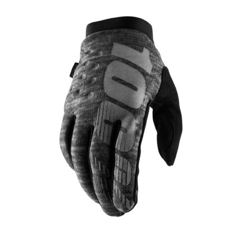 BRISKER 100% Cold Weather Glove Heather Grey